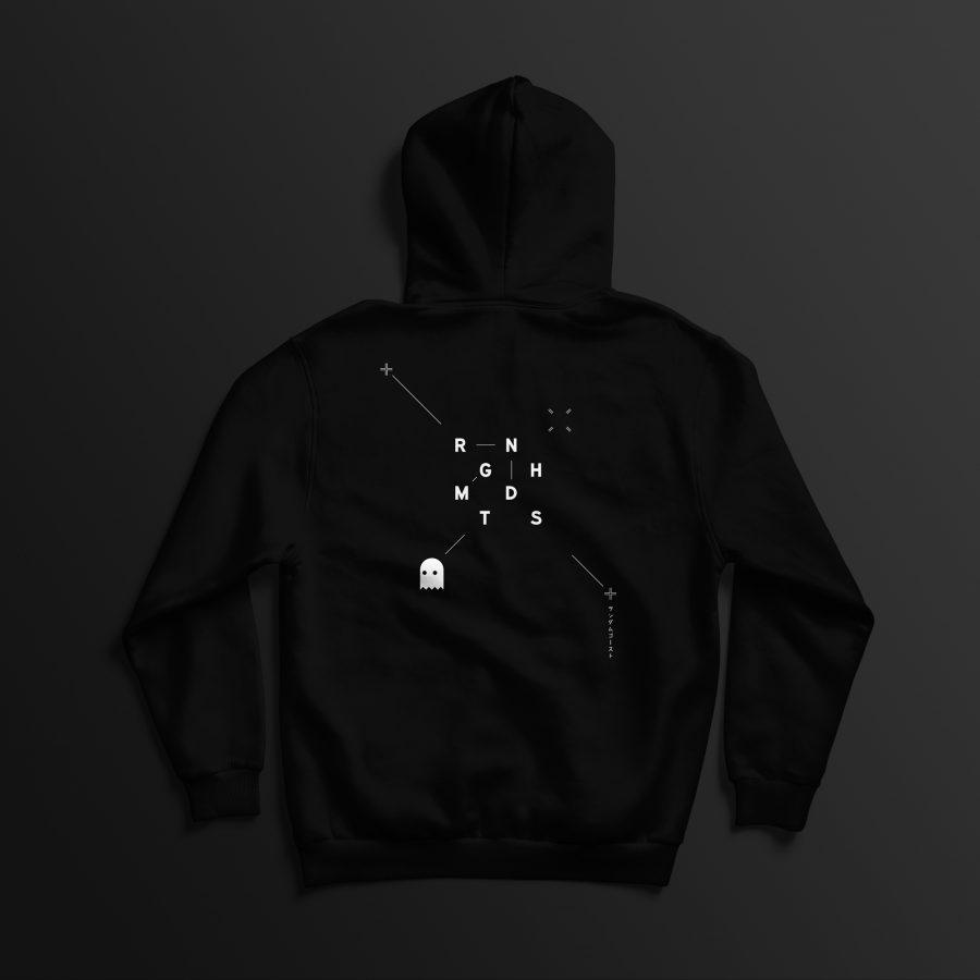 Array hoodie back