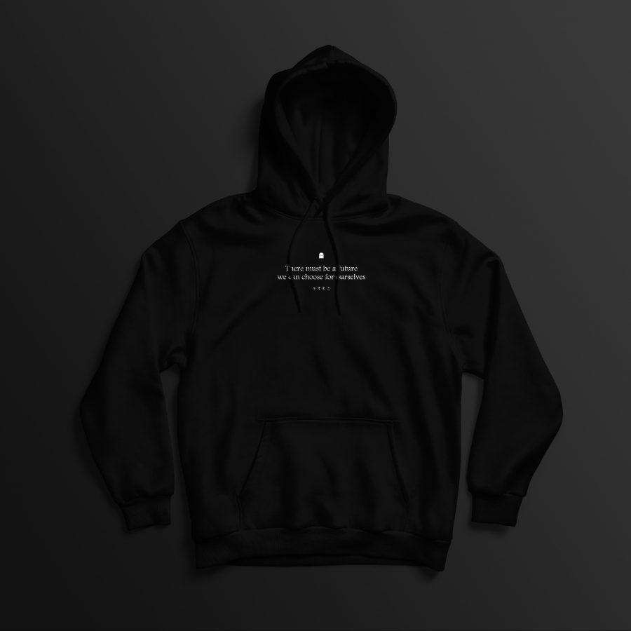 Divergent Futures hoodie front