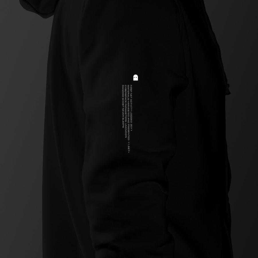 ID hoodie sleeve